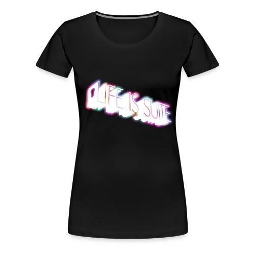 Large Logo 2 - Women's Premium T-Shirt