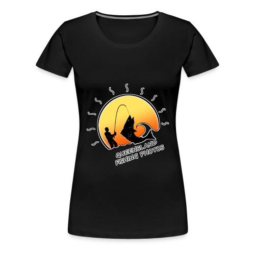 qld fishing logo - Women's Premium T-Shirt