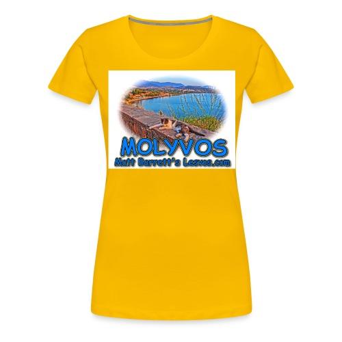 Molyvos cat jpg - Women's Premium T-Shirt