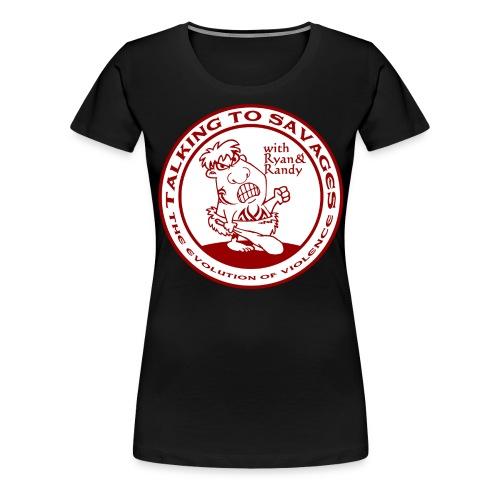 BigLogoSavage png - Women's Premium T-Shirt