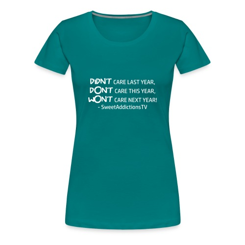 quote2 W png - Women's Premium T-Shirt