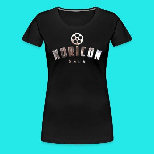 Koricon Nala T-Shirt Logo Crop - Women's Premium T-Shirt