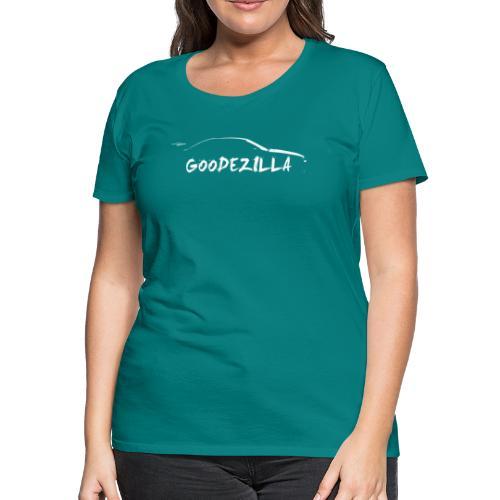 Silhouette GoodeZilla Wht - Women's Premium T-Shirt
