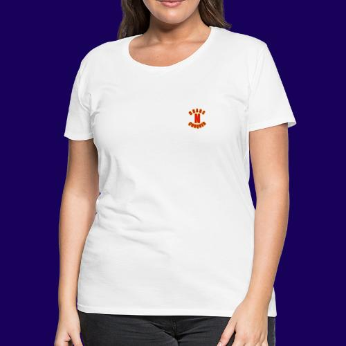 ChaosNConquer Minimalist Logo Print - Women's Premium T-Shirt
