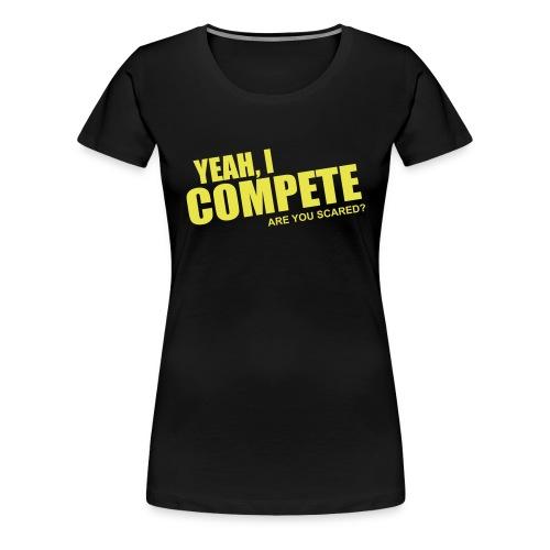 compete - Women's Premium T-Shirt