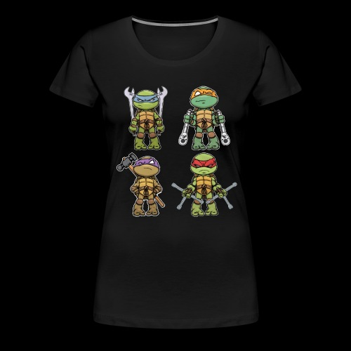 Ninja Automotive Performance - Women's Premium T-Shirt