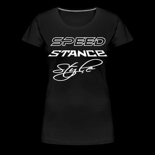 Speed stance style - Women's Premium T-Shirt