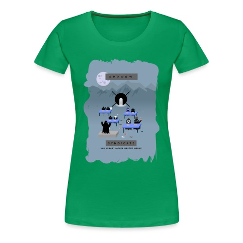 Hacker Summer Camp 2019 - Women's Premium T-Shirt