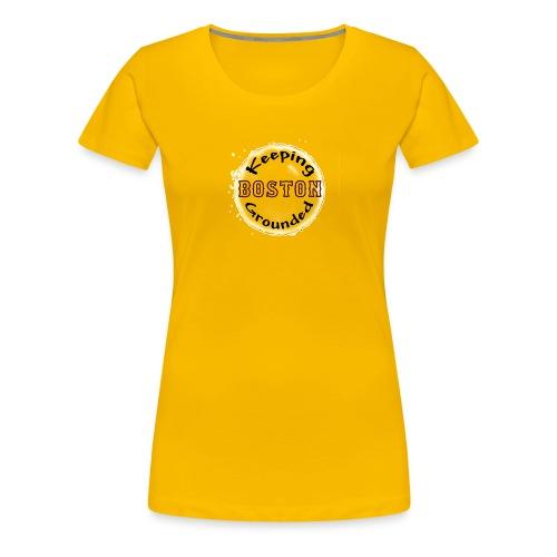 keepingbostongrounded - Women's Premium T-Shirt
