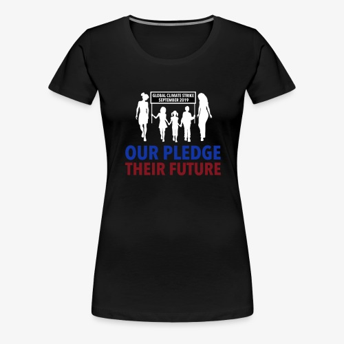 Limited-edition Climate Strike T-Shirt - Women's Premium T-Shirt