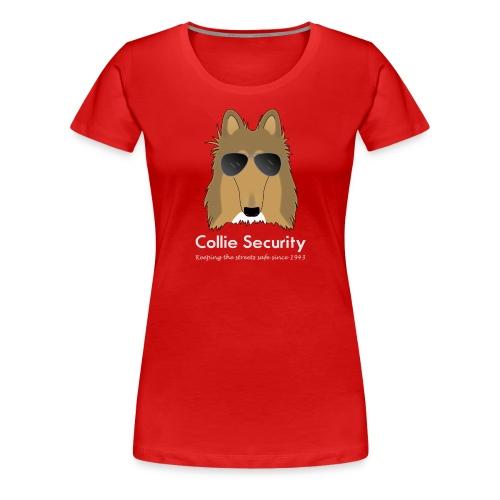 Collie Security - Women's Premium T-Shirt