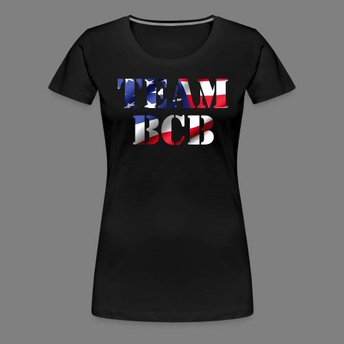 team bcb flag - Women's Premium T-Shirt