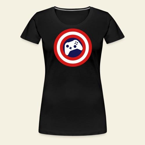 CapitanPlaydatesCorrected - Women's Premium T-Shirt