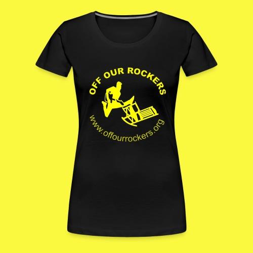 2Yellow Logo png - Women's Premium T-Shirt