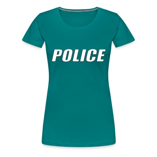 Police White - Women's Premium T-Shirt