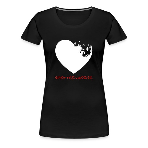 Appaloosa Heart - Women's Premium T-Shirt