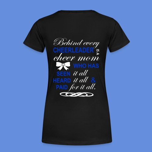 Cheerleading t-shirt blue - Women's Premium T-Shirt