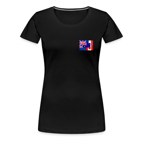 Flags - Women's Premium T-Shirt