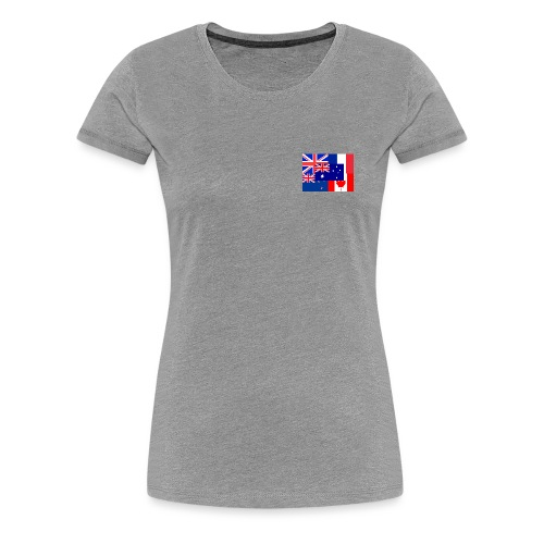 Flags - Women's Premium T-Shirt