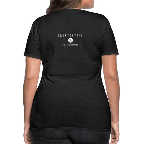 It's about CRYPTOs on your back - Women's Premium T-Shirt