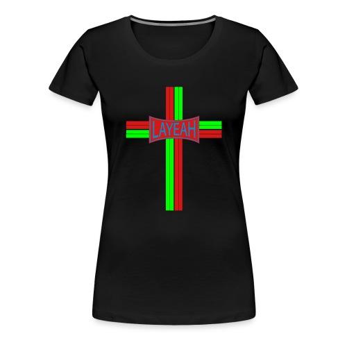 Portugy Cross Three - Women's Premium T-Shirt