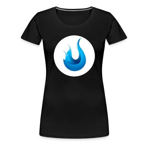 flame front png - Women's Premium T-Shirt