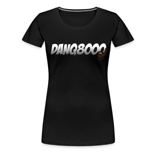 DanQ8000 Logo with Beard May 2015 png - Women's Premium T-Shirt