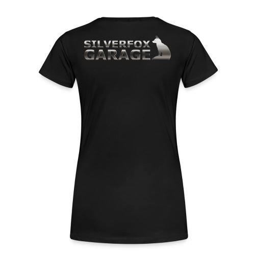 silver fox garage - Women's Premium T-Shirt