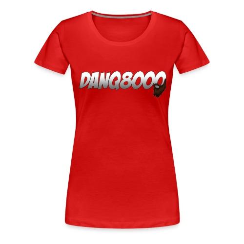 DanQ8000 Logo with Beard May 2015 png - Women's Premium T-Shirt