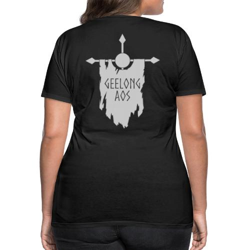 Geelong AOS - BLACK - Women's Premium T-Shirt