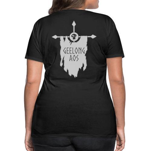 Geelong AOS - DESTRUCTION BLACK - Women's Premium T-Shirt