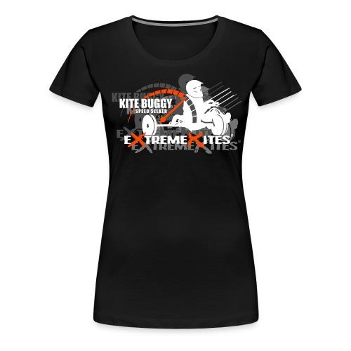 Speed Seeker Contrast Hoodie - Women's Premium T-Shirt