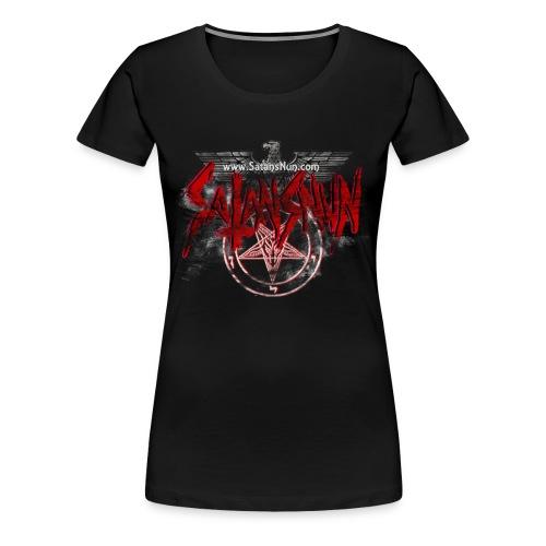 nunbackx png - Women's Premium T-Shirt