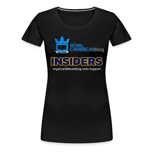 insider-back - Women's Premium T-Shirt