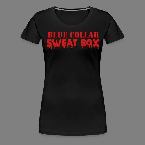 sweat box - Women's Premium T-Shirt