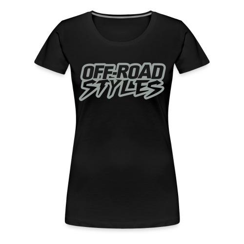 Extreme Dirt Bike Stunt T-Shirts - Women's Premium T-Shirt