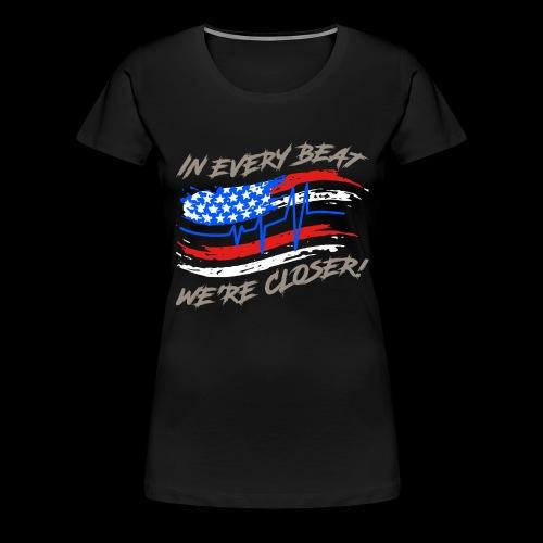 #TranceFamily Got Your Six! - Women's Premium T-Shirt
