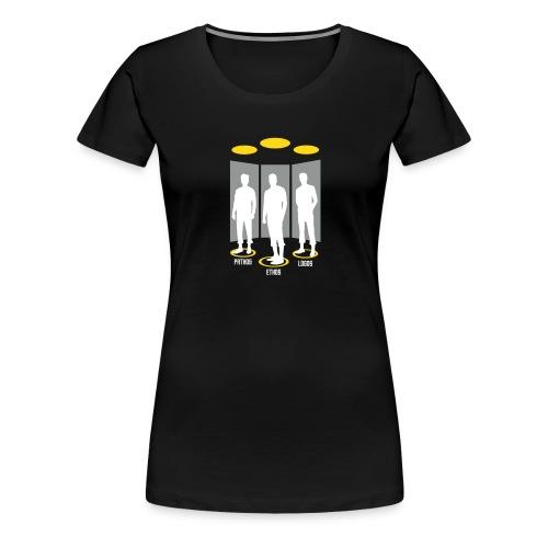 Pathos Ethos Logos - Women's Premium T-Shirt