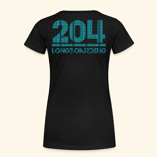Letter-Ception - Women's Premium T-Shirt