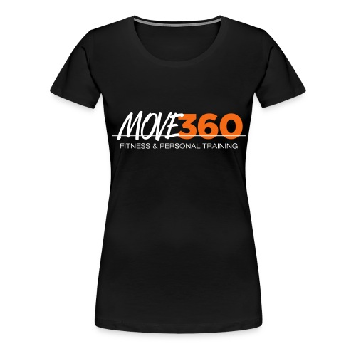 Move360 Logo LightGrey - Women's Premium T-Shirt