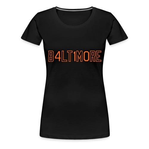 B4LT1M0RE - Women's Premium T-Shirt