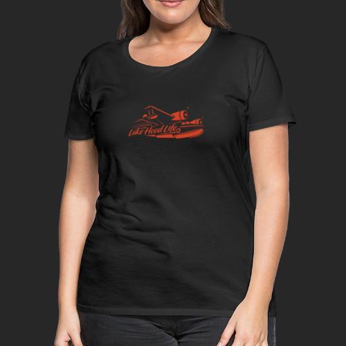 LHL Goose Red - Women's Premium T-Shirt