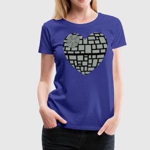 Death star heart - Women's Premium T-Shirt