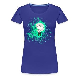 Chibi Nullify Paint Splatter - Women's Premium T-Shirt