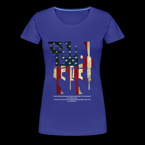 The 2nd Right is Best Right - Women's Premium T-Shirt