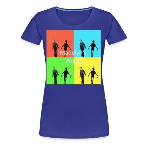 Madelyn's World - Women's Premium T-Shirt