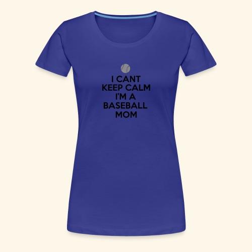 Baseball Mom Shirt - Women's Premium T-Shirt