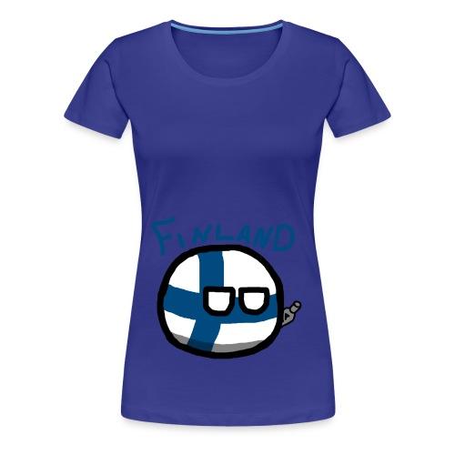 Finlandball - Women's Premium T-Shirt