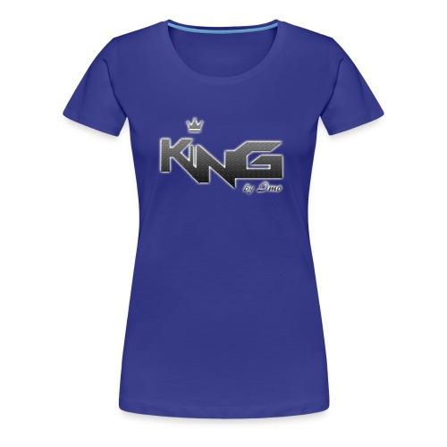 king logo v4 - Women's Premium T-Shirt