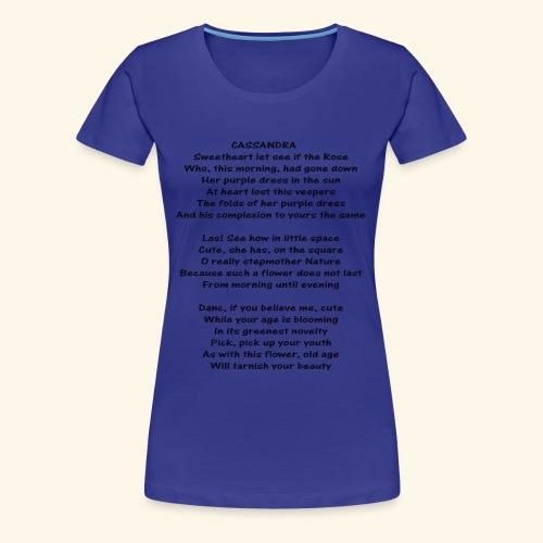 cassandra - Women's Premium T-Shirt